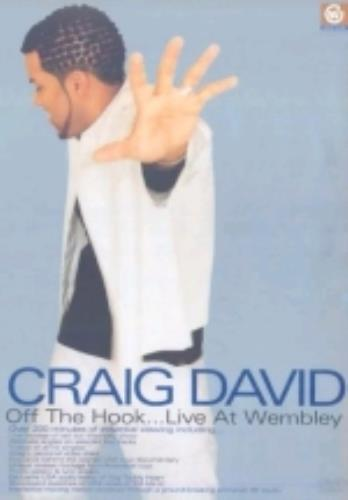 Craig David Off The Hook - Live At Wembley DVD UK CDVDDOF231227