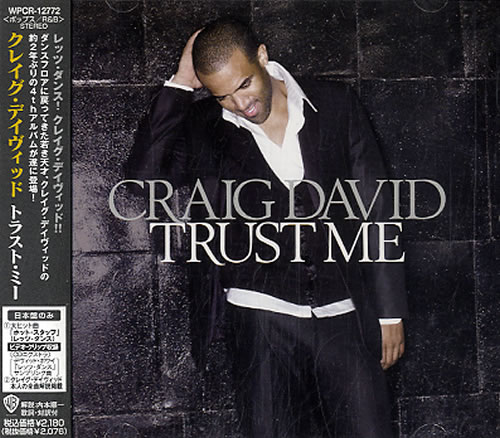 Craig David Trust Me CD album (CDLP) Japanese CDVCDTR416019