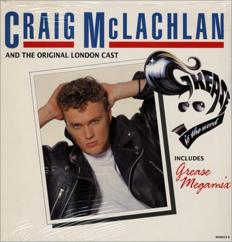 Craig McLachlan Grease - Sealed UK 12