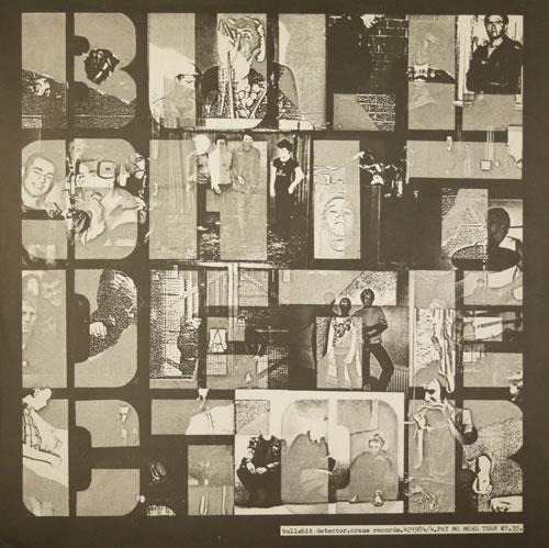 Crass Bullshit Detector vinyl LP album (LP record) UK C\SLPBU559745