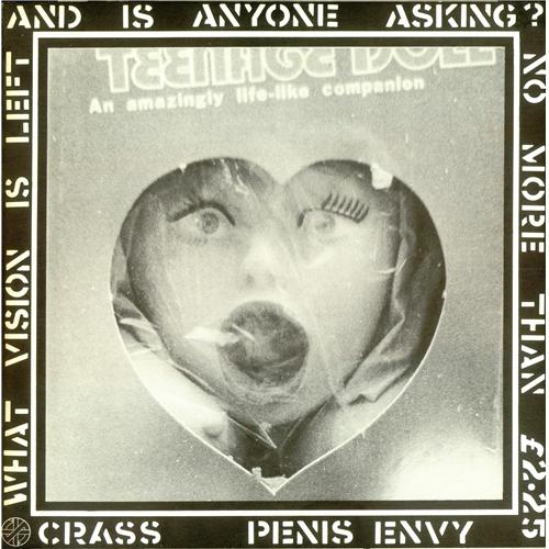 Crass Penis Envy - 1st - £2.25 vinyl LP album (LP record) UK C\SLPPE416780