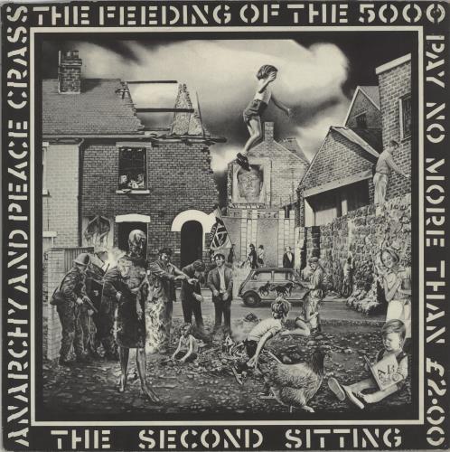 "Crass The Feeding Of The 5000 - 1st - EX 12"" vinyl single (12 inch record / Maxi-single) UK C\S12TH659537"