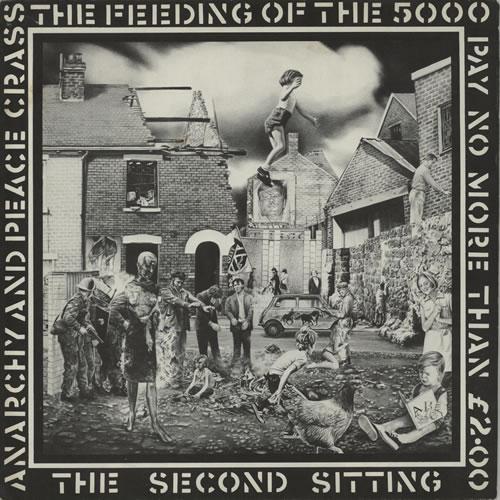 "Crass The Feeding Of The 5000 - 1st Crass label 12"" vinyl single (12 inch record / Maxi-single) UK C\S12TH636567"