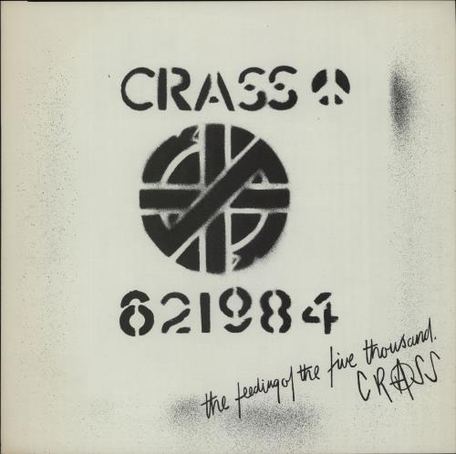 "Crass The Feeding Of The Five Thousand - 1st 12"" vinyl single (12 inch record / Maxi-single) UK C\S12TH659363"