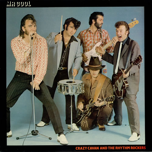 Image result for Crazy Cavan & The Rhythm Rockers - mr cool
