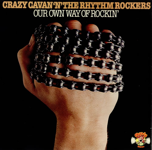 Image result for Crazy Cavan & The Rhythm Rockers - Our own way of Rockin