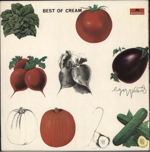 Cream Best Of Cream - 1st + Inner vinyl LP album (LP record) UK CRMLPBE61287