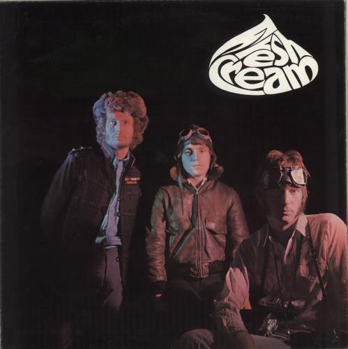Cream Fresh Cream - 1st vinyl LP album (LP record) UK CRMLPFR61900