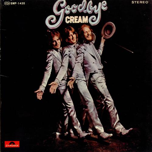 Cream Goodbye vinyl LP album (LP record) Japanese CRMLPGO496097