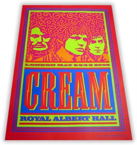 Cream Royal Albert Hall - 1st artwork UK CRMARRO403418