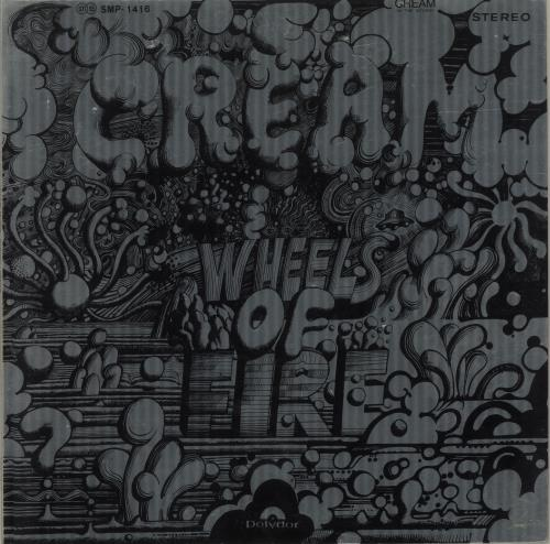 Cream Wheels Of Fire/ In The Studio/ Live At The Fillmore 2-LP vinyl record set (Double Album) Japanese CRM2LWH686358