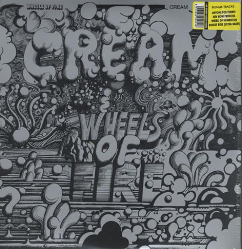 Cream Wheels Of Fire 2-LP vinyl record set (Double Album) Russian CRM2LWH430913