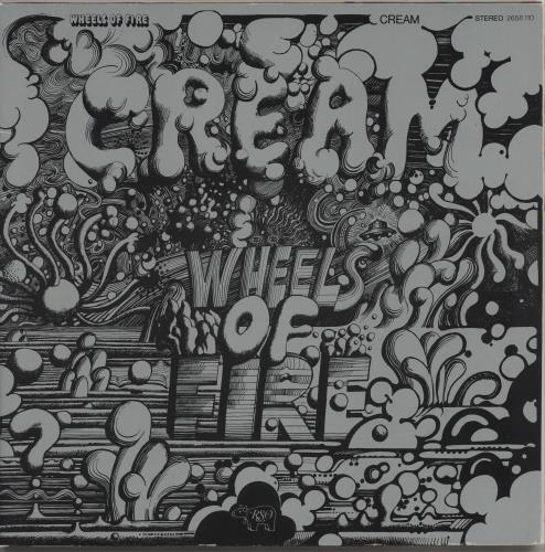 Cream Wheels Of Fire 2-LP vinyl record set (Double Album) German CRM2LWH765366