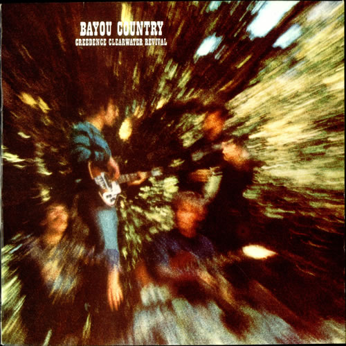 Creedence Clearwater Revival Bayou Country vinyl LP album (LP record) Dutch CCLLPBA514930
