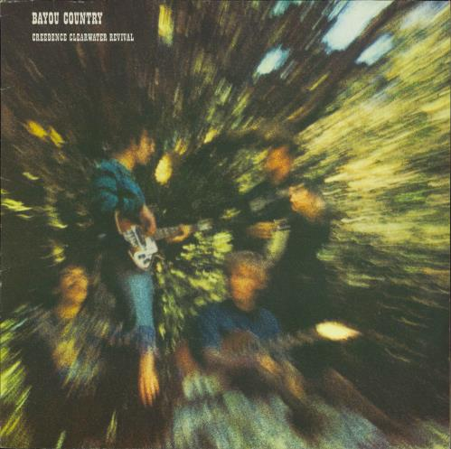 Creedence Clearwater Revival Bayou Country vinyl LP album (LP record) German CCLLPBA770884