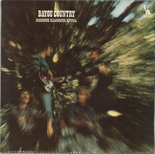 creedence clearwater revival bayou country 1st uk vinyl. Black Bedroom Furniture Sets. Home Design Ideas