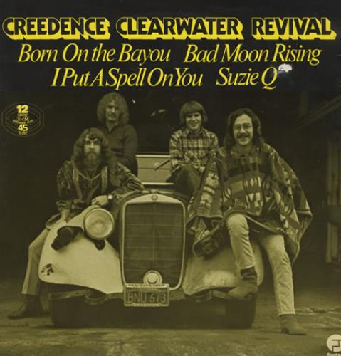 Creedence Clearwater Revival Born On The Bayou Dutch 12