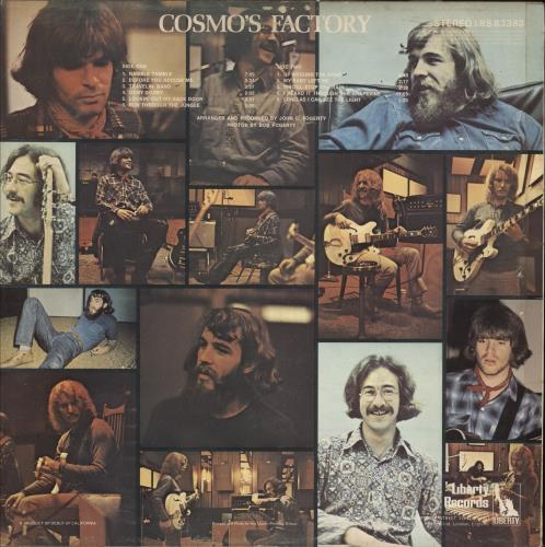Creedence Clearwater Revival Cosmo's Factory - 1st - F/L - VG vinyl LP album (LP record) UK CCLLPCO718927