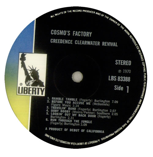 Creedence Clearwater Revival Cosmo S Factory Textured