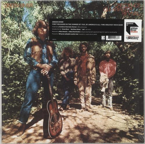 Creedence Clearwater Revival Green River - 180gm Vinyl - Sealed vinyl LP album (LP record) UK CCLLPGR733832