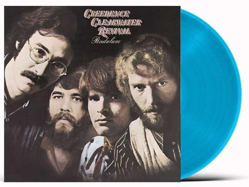 Creedence Clearwater Revival Pendulum - Blue Vinyl - Sealed vinyl LP album (LP record) UK CCLLPPE755577