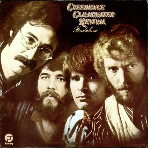 Creedence Clearwater Revival Pendulum vinyl LP album (LP record) UK CCLLPPE523064