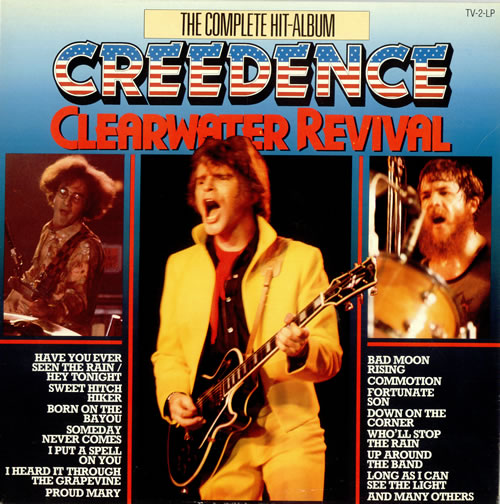 Creedence Clearwater Revival The Complete Hit-Album 2-LP vinyl record set (Double Album) Dutch CCL2LTH488234