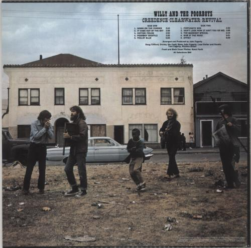 Creedence Clearwater Revival Willy And The Poor Boys - 180gm Vinyl - Sealed vinyl LP album (LP record) UK CCLLPWI733833