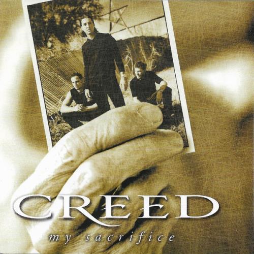 "Creed My Sacrifice CD single (CD5 / 5"") Canadian E-DC5MY222363"