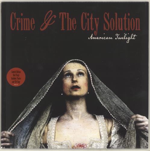 Crime & The City Solution American Twilight vinyl LP album (LP record) UK CB7LPAM704073
