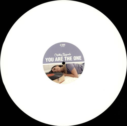 Cristina Quesada You Are The One - Numbered - White Vinyl vinyl LP album (LP record) Spanish QZJLPYO704450