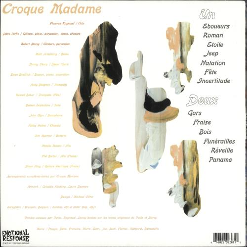 Croque Madame Croque Madame - White Vinyl vinyl LP album (LP record) UK 0RQLPCR728837
