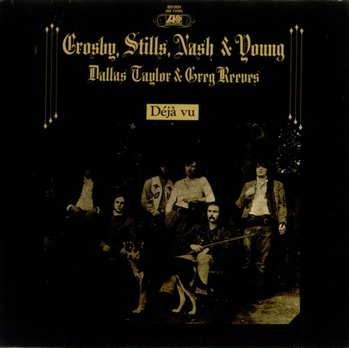 Crosby, Stills, Nash & Young Déjà Vu - 2nd - 70s vinyl LP album (LP record) German CSNLPDJ72824
