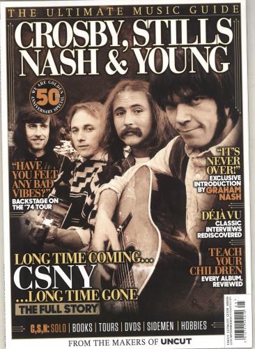 Crosby, Stills, Nash & Young The Ulitmate Music Guide magazine UK CSNMATH736683