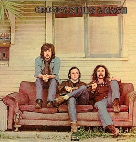 Crosby, Stills & Nash Crosby, Stills & Nash - 1st + Insert - VG vinyl LP album (LP record) UK NOYLPCR387876