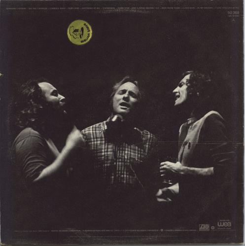 Crosby, Stills & Nash CSN vinyl LP album (LP record) French NOYLPCS772560