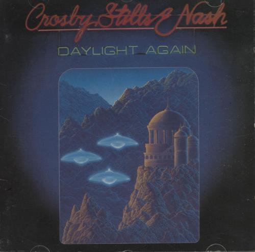 Crosby, Stills & Nash Daylight Again CD album (CDLP) US NOYCDDA674061