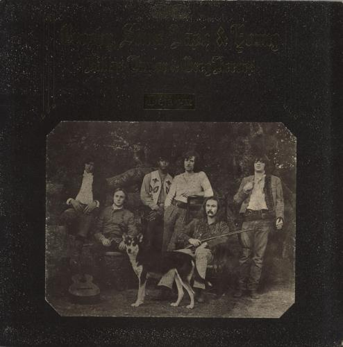 Crosby Stills Nash & Young Déjà Vu - 1st - VG vinyl LP album (LP record) UK CSNLPDJ557383