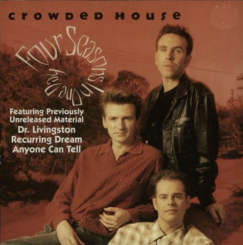 """Crowded House Four Seasons In One Day CD single (CD5 / 5"""") UK CRDC5FO73791"""