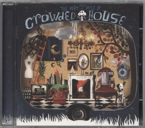 Crowded House The Very, Very Best Of 2-disc CD/DVD set UK CRD2DTH520593