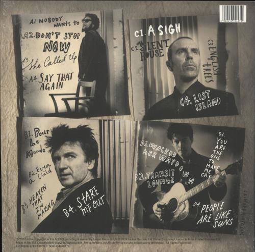 Crowded House Time On Earth 2-LP vinyl record set (Double Album) UK CRD2LTI729701