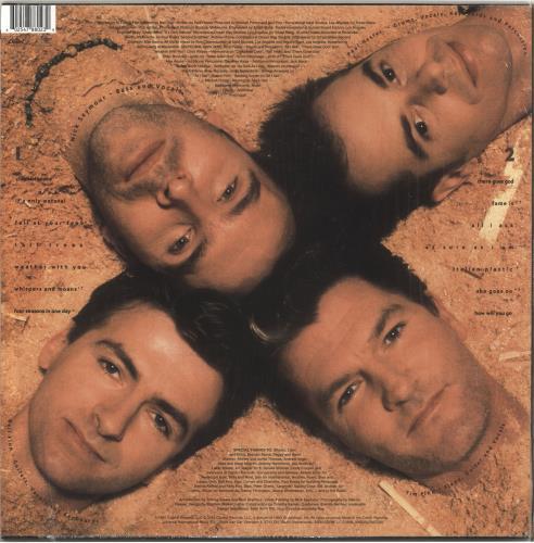 Crowded House Woodface - 180gm vinyl LP album (LP record) UK CRDLPWO735257