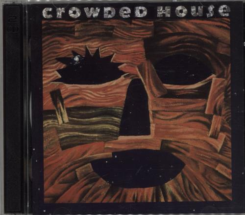 Crowded House Woodface 2 CD album set (Double CD) UK CRD2CWO667343