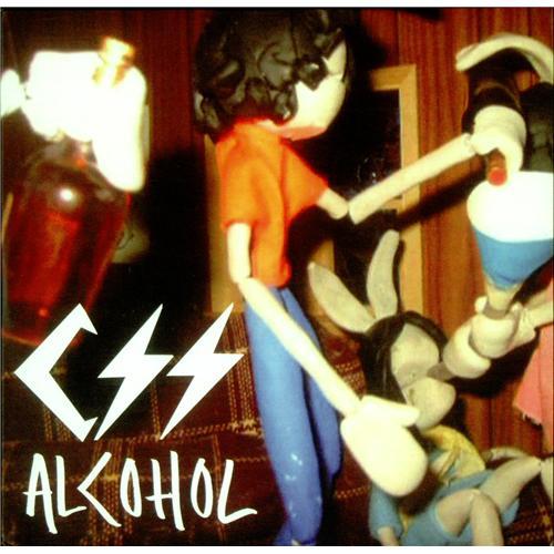 "CSS Alcohol CD single (CD5 / 5"") UK CS-C5AL420748"