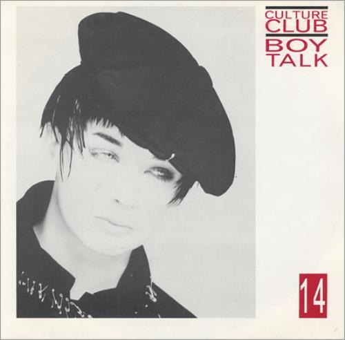 """Culture Club Boy Talk 14 7"""" vinyl single (7 inch record) UK CUL07BO121731"""