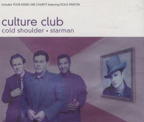 """Culture Club Cold Shoulder CD single (CD5 / 5"""") UK CULC5CO191367"""