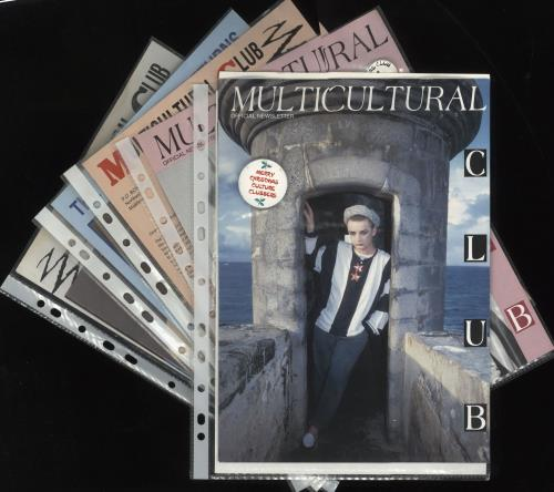 Culture Club Collection of Official Fan Club Newsletters & Flexi Discs fanzine UK CULFACO729998