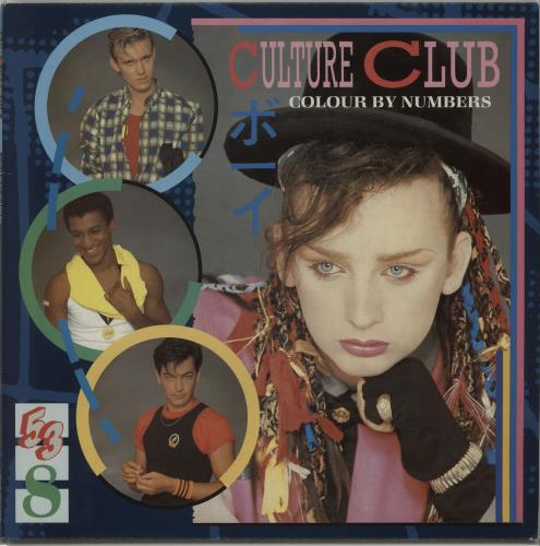 Culture Club Colour By Numbers + lyric insert vinyl LP album (LP record) UK CULLPCO240016