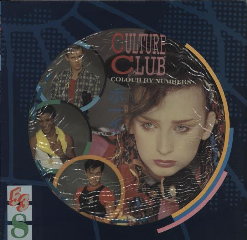 Culture Club Colour By Numbers + Sleeve picture disc LP (vinyl picture disc album) UK CULPDCO00022