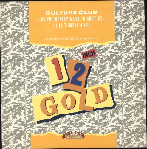 """Culture Club Do You Really Want To Hurt Me 12"""" vinyl single (12 inch record / Maxi-single) UK CUL12DO738028"""